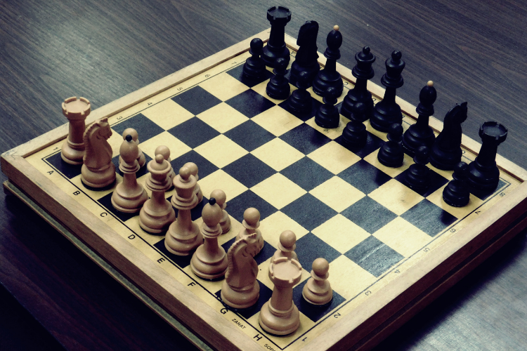 plateau d'échecs de tournoi